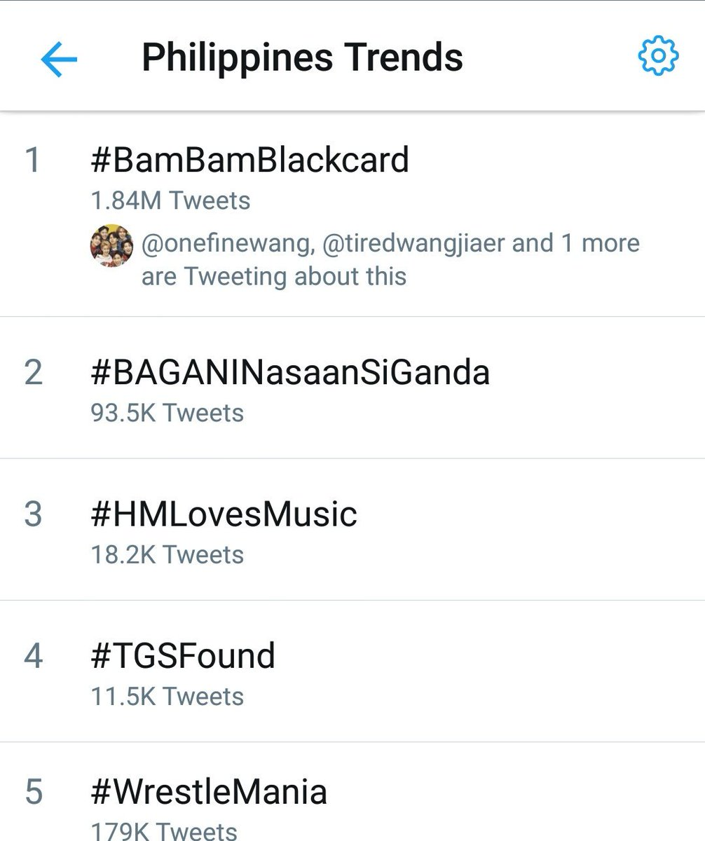 This is just truly amazing!! #BamBamBlackCard is still trending # 1 and it has been in that spot for more than 24 hours already. #GOT7  @BamBam1A<br>http://pic.twitter.com/ZffLYDZza4