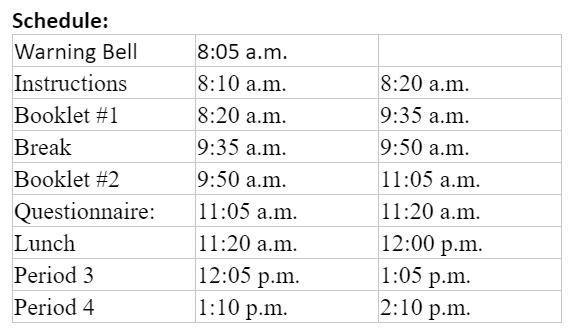 Resurrection Css On Twitter Todays Osslt Schedule Bus Info