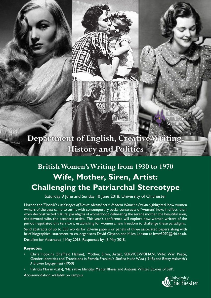 Miles Leeson On Twitter Just 24 Hours Left To Send Us Your Style Siren Abstract For The British Women Writers Conference 1930 1970 Chiuni Https Tco Ab52irc6p6