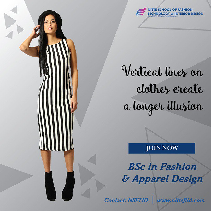 Nitte On Twitter Fashionfacts Vertical Lines On Clothes Create A Longer Https T Co 79etavpgis Get More Information About Latestfashiontrends And To Pursue Degree In Fashion And Appareldesign Visit Us Https T Co D3dgwkcjea Fashionideas