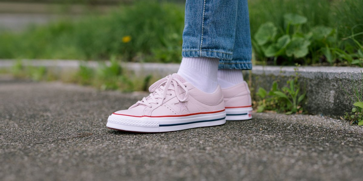 c7266b37b7fc Converse One Star Ox - Barely Rose Gym Red White SHOP HERE   https   t.co PfVBKcY5qu…