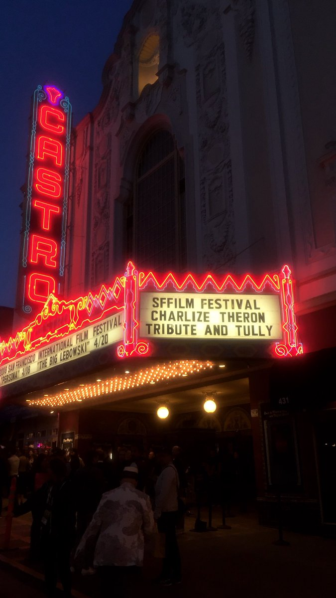 Thank you @SFFILM for having me this past weekend and showing @TullyMovie some love. I had a blast!