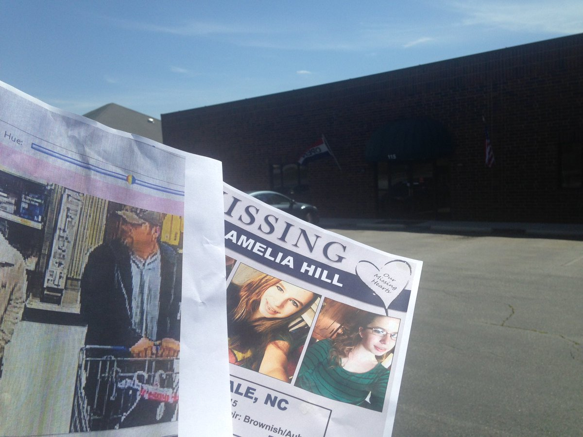 Archdale Office Supply Printed Up Flyers For Free. Hoping To Spread The  Word About Missing Amelia Hill U0026 The Unknown Man She Was Last Seen With.