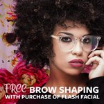 Get your glam on for less. Purchase a flash facial and get a brow shaping for free at #SevaBeauty. . (Each Seva Studio is individually owned and operated. Offer valid at participating locations.)