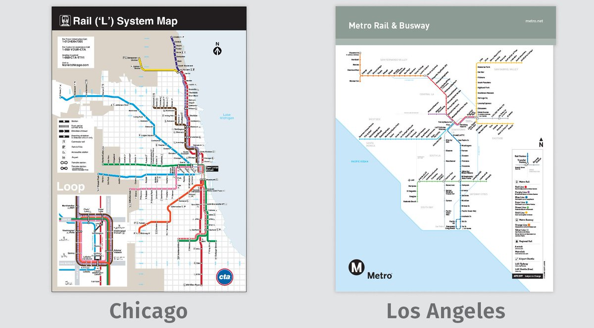 Transit Chicago Map.Transit Maps On Twitter Comparison Images And Links For Chicago Vs