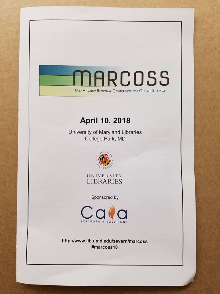 Caiasoft On Twitter Marcoss2018 Caias Display At The Conference