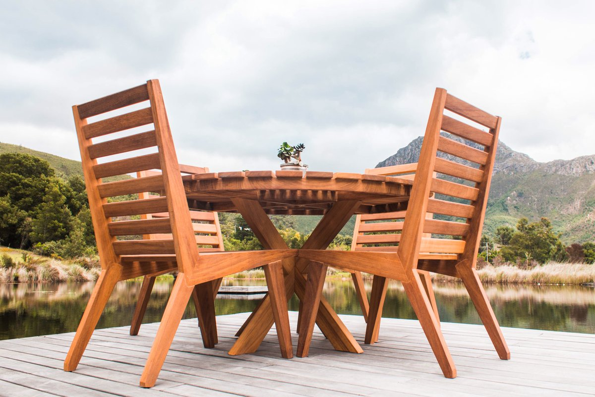 Iroko outdoor furniture is sold through builders warehouse branches in city bowl constantiaberg and sunningdale iroko timber is perfectly suited to