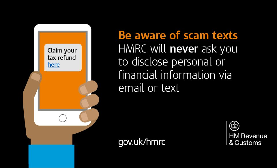 Hm Revenue Customs On Twitter We Re Aware Of Text Messages
