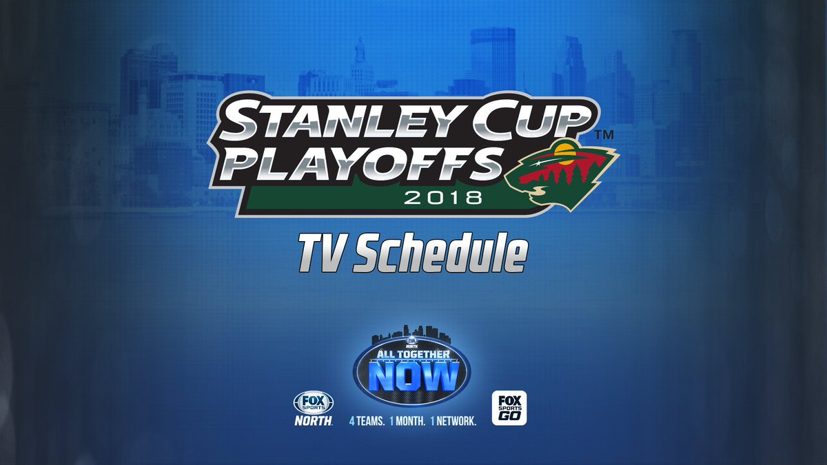 "fox sports north on twitter: ""bringing you @mnwild playoff hockey"