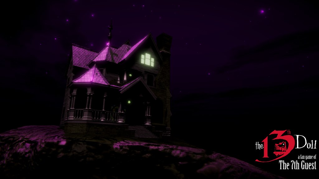 Fan Game Of The 7th Guest Vyjde Na Halloween The13thdoll