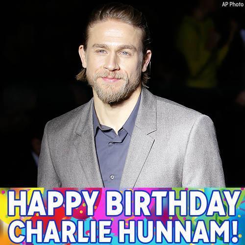 Happy birthday to star Charlie Hunnam!