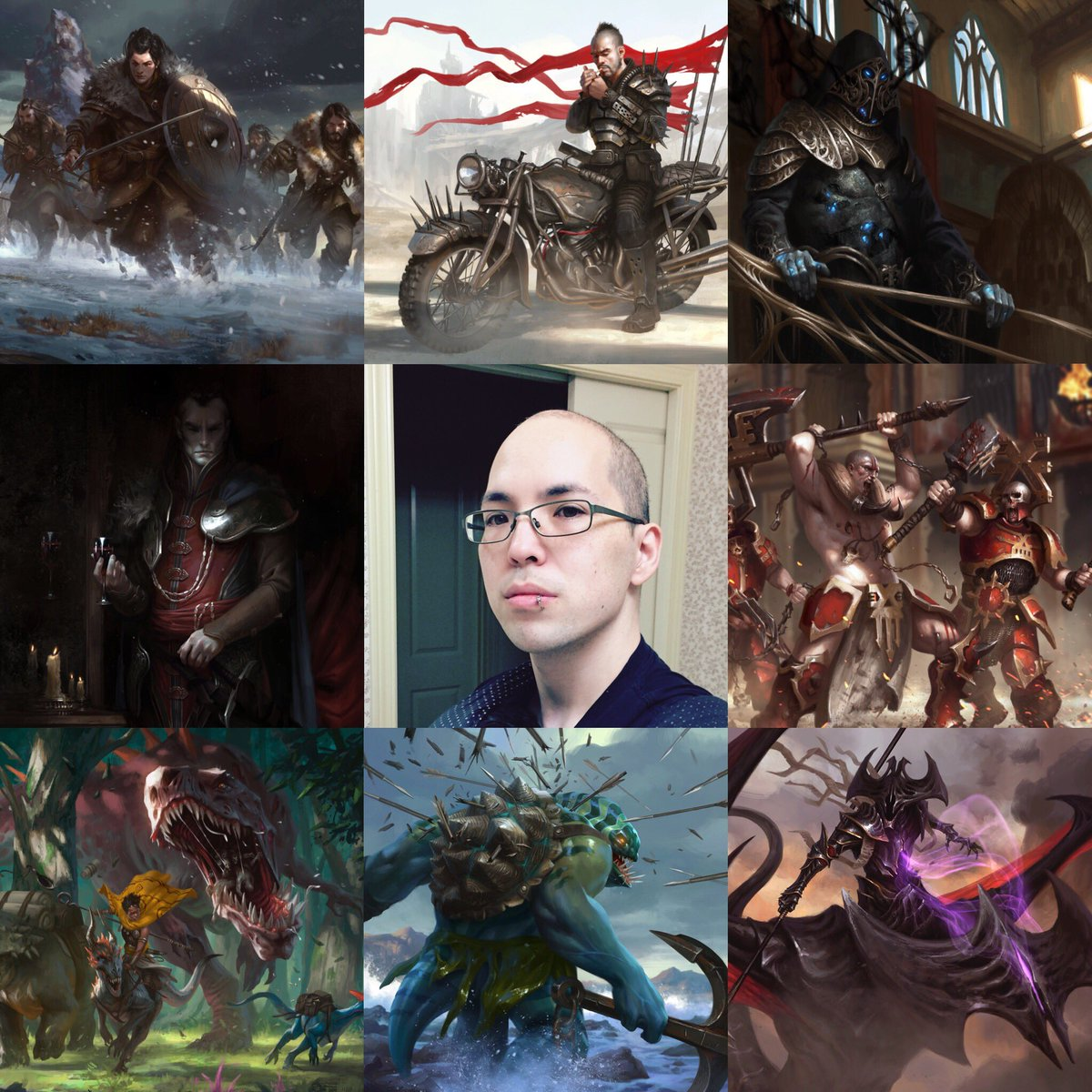 test Twitter Media - I'm a freelance artist and I like eating cupcakes. #artvsartist #mtg #Warhammer #DnD #dota2 https://t.co/W3HoFy4Cdt