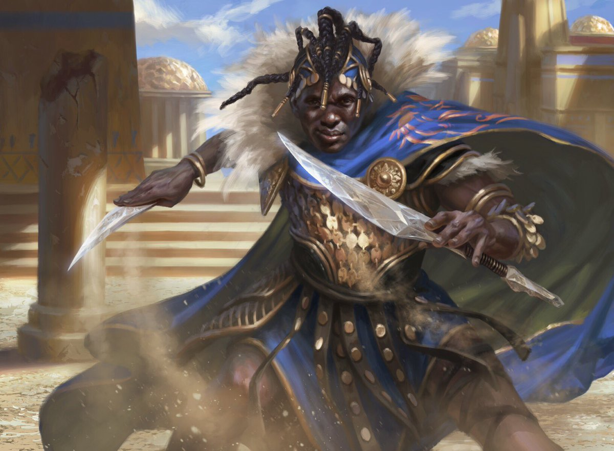 test Twitter Media - Kwende, Pride of Femeref from Magic: The Gathering - Dominaria. #mtg #mtgdom https://t.co/FBPicGJ4EK