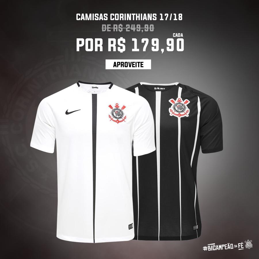 Camisas I e II do #BiCampeãoDaFé por R$ 179,90 cada + Personalização Grátis! Comemore o título com a ShopTimão, Fiel! ⚫⚪  Compre aqui 👉 https://t.co/yPIaZupnJF