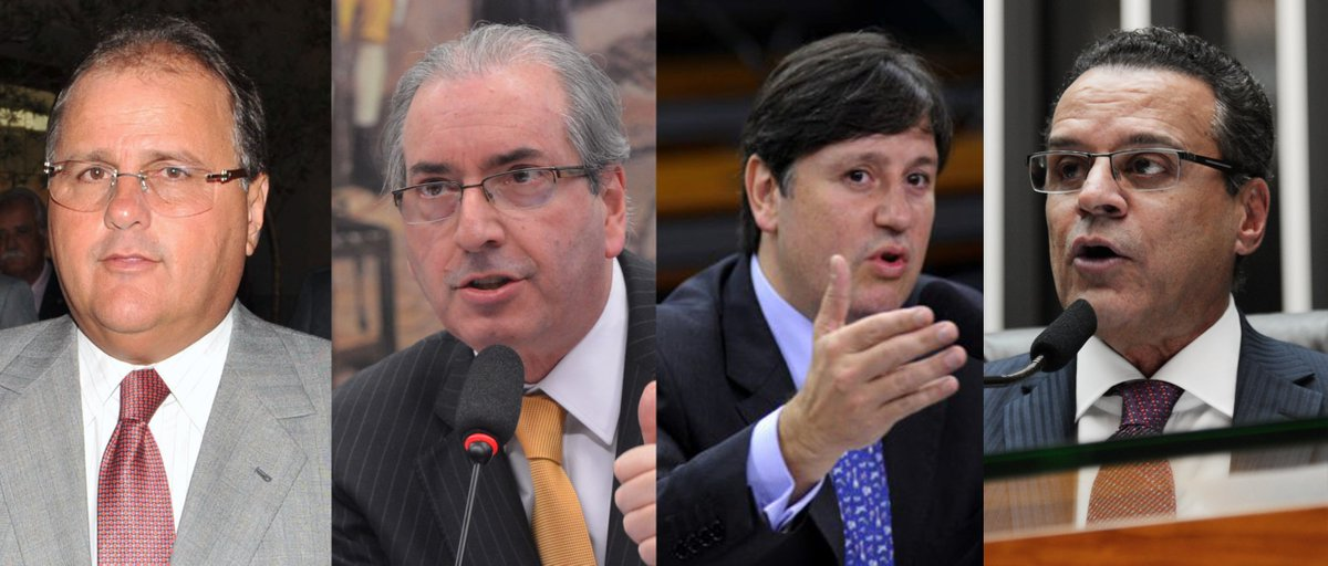 Juiz aceita denúncia do MPF e Geddel Vieira Lima, Eduardo Cunha, Rodrigo Rocha Loures e Henrique Eduardo Alves, todos do MDB, se tornam réus. https://t.co/8un1zBhtMB 📸Agência Brasil