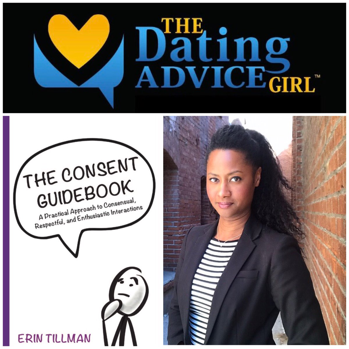 Don't miss #SexTalkTuesday at 3pm Eastern! @DatingAdviceGrl...