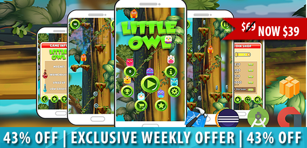 Little Owl Game Template Buildbox is a very challenging arcade game with accelerometer control, 20 different characters and 100 levels. Now $39! https://t.co/ThmDWEt4sT https://t.co/b5LnpUjqma