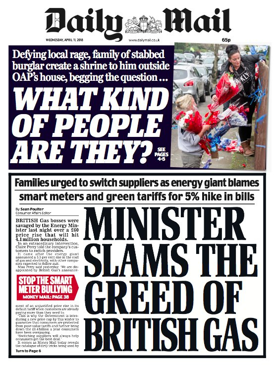 Wednesday's @DailyMailUK #MailFrontPages https://t.co/o4YpMtHZyP
