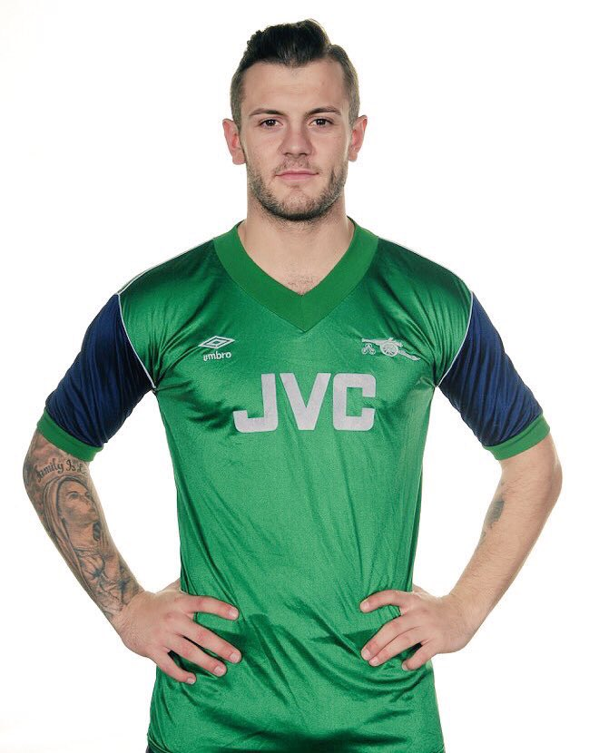Arsenal s 1982 away kit is our only green outfield kit to date   AFCpic.twitter.com hxaVLrZeXX fc0e4f412