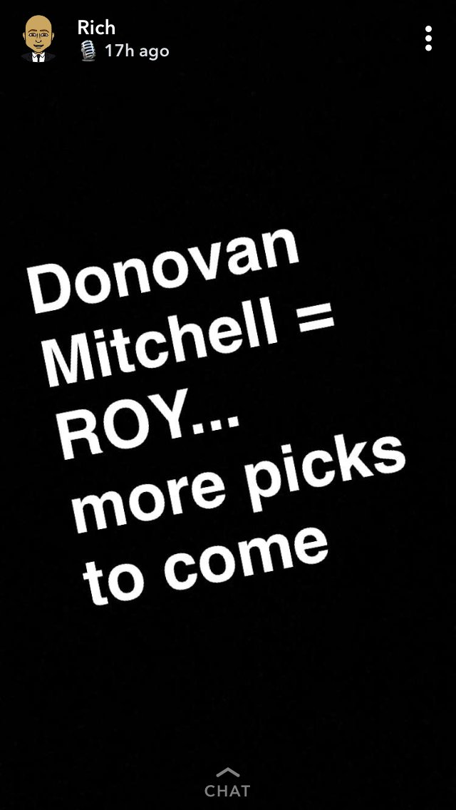 👀 Richard Jefferson says Ben Simmons isnt a TRUE rookie, picks Donovan Mitchell for ROY.