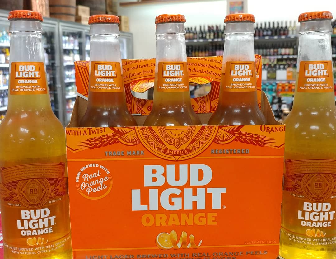 Now In Stock Anheuser Busch Debuts Summery New Bud Light Orange Available  For A Limited Time
