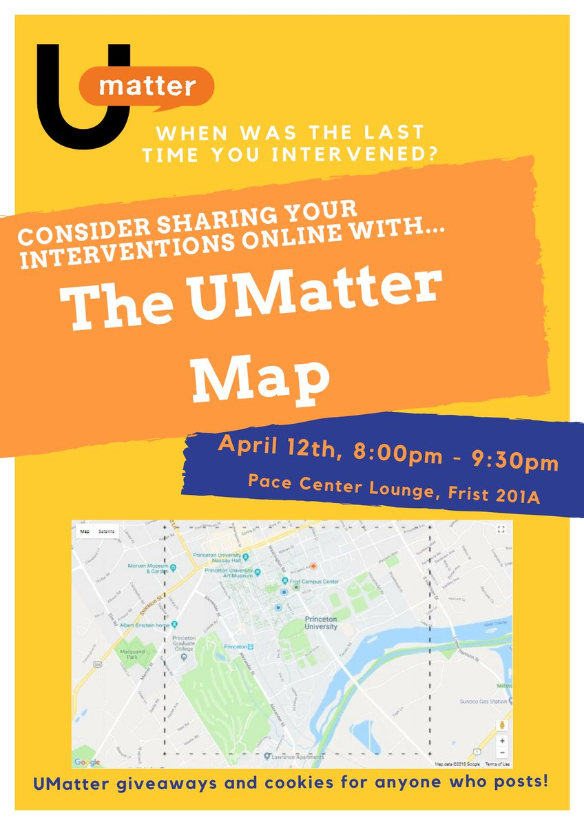 Pace Campus Map.Princeton Umatter On Twitter The New Umatter Map Was Created For