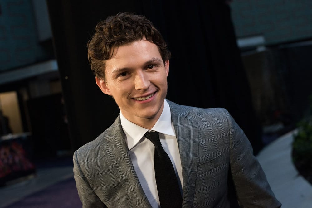 #Spiderman cleans up pretty well 😏 @TomHolland1996 https://t.co/j6GOjiQGBh #InfinityWar