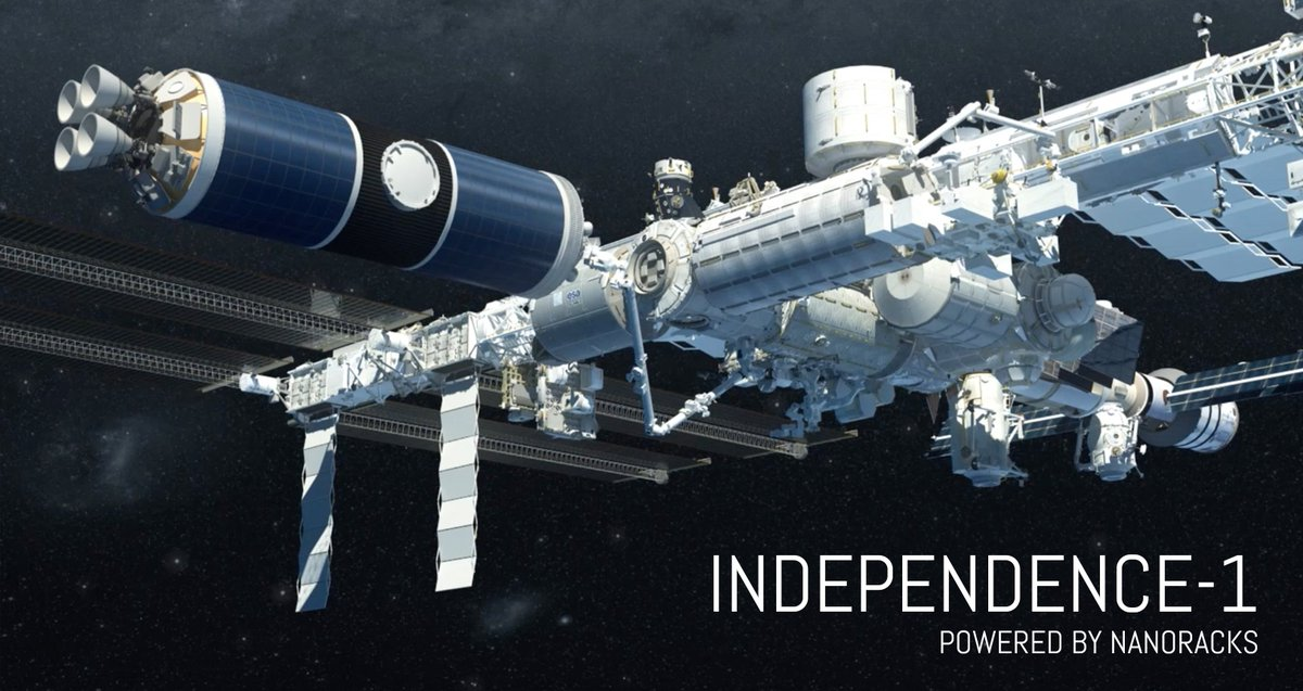 We're pleased to introduce...INDEPENDENCE-1. The NanoRacks Space Outpost Program is open for business: https://t.co/S64KguLyy4