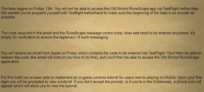 Old school runescape on twitter invitations for the osrsmobile 1 reply 0 retweets 3 likes stopboris Choice Image