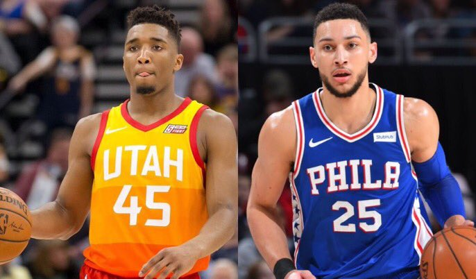 Rookie of the Year? RT for Donovan Mitchell Like for Ben Simmons