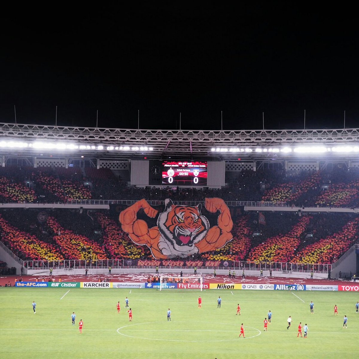 """The Tifo Daily On Twitter """"NOW YOU SEE ME AFC Cup 2018"""