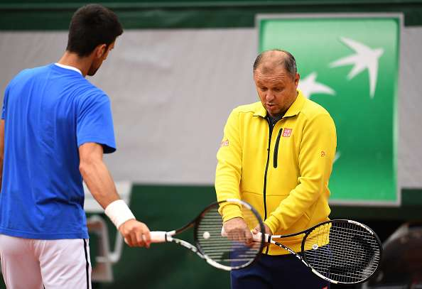 In Monte-Carlo, his former/long time coach Marjan Vajda will work with  Novak Djokovic : 'Marjan came to help Novak. At the moment, there is no  concrete agreement on further cooperation, nor is the length of their  joint work discussed. It will go one step at a time'
