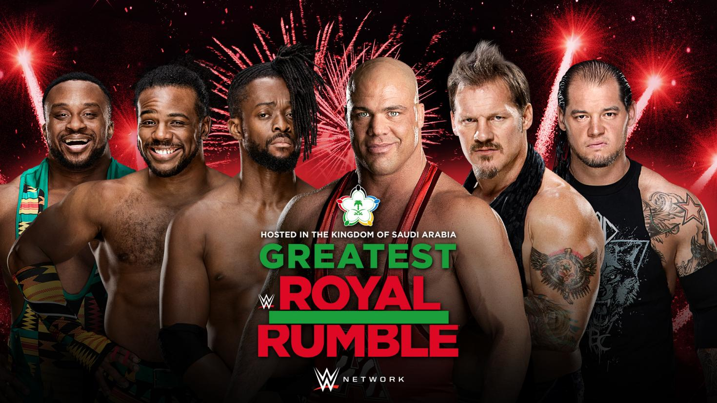 Chris Jericho, Kurt Angle set for WWE Greatest Royal Rumble https://t.co/Jaq3xx6oCB https://t.co/YnULhs31Am