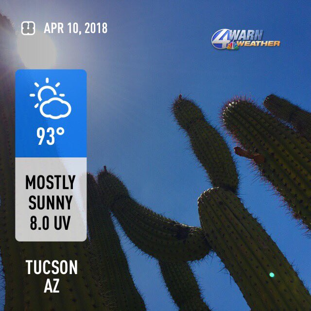 Kvoa Weather S Tweet Kvoa At Noon Is Live Until 1 Pm Here Is