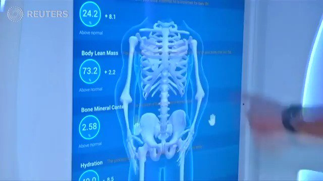 Dubai's new health pods make checkups more accessible. https://t.co/FvZMDxe5tO