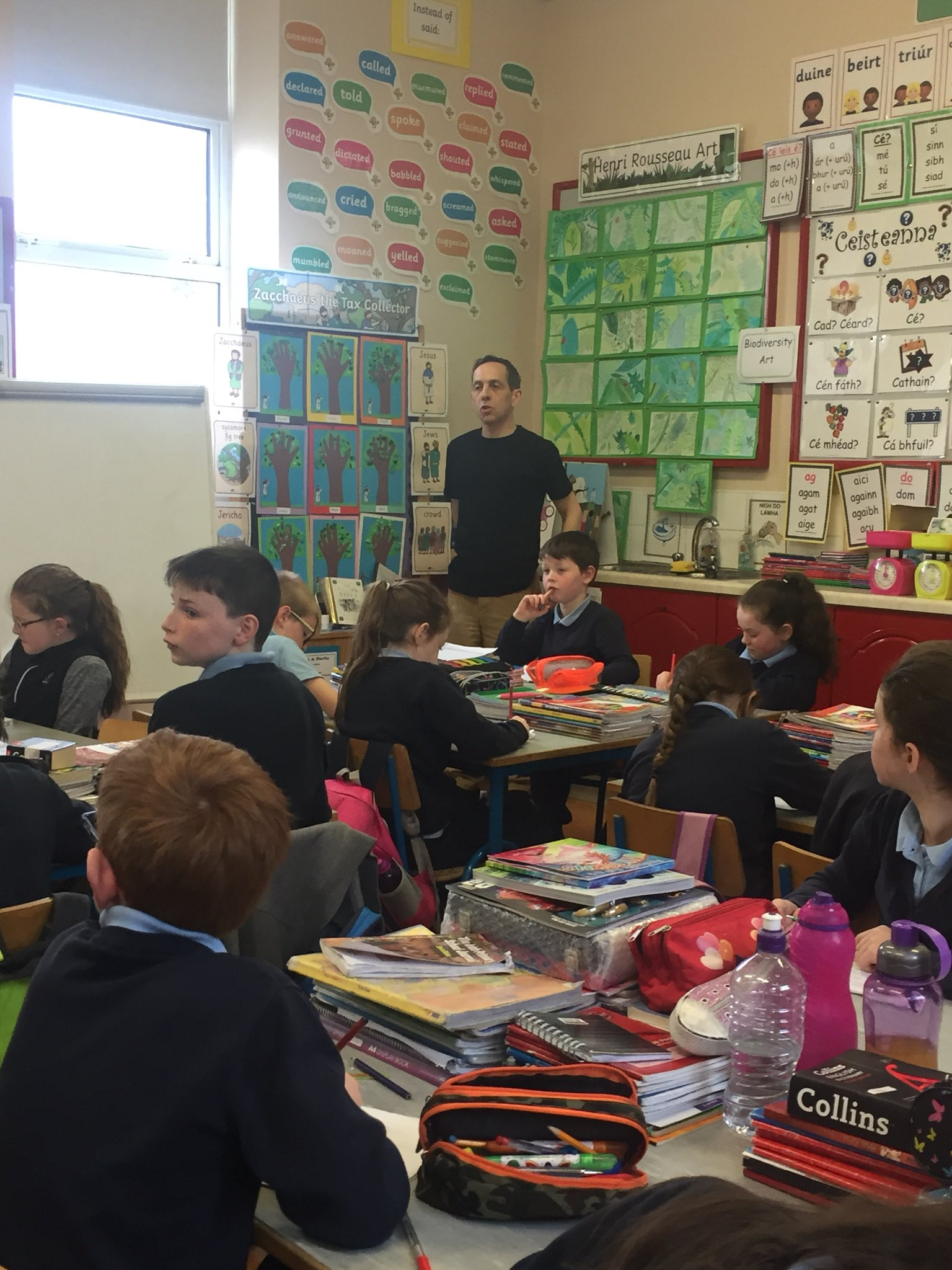 Castleplunkett NS On Twitter We Were Really Inspired By Poet And Author Gerry Boland Thoroughly Enjoyed Doing Poetry Creative Story Writing With