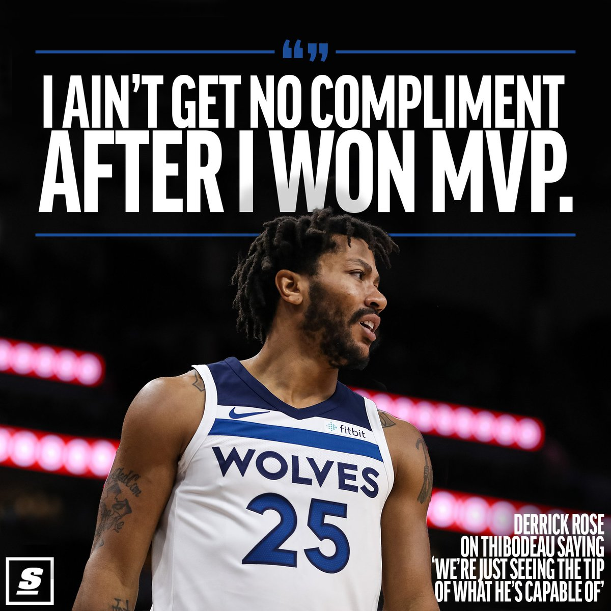 derrick rose Derrick rose, the one-time nba mvp whose career has been marked by horrific injuries and comebacks, is rebooting his career again and, at this point, he has heard all the talk and read all the headlines questioning him he's having none of it, telling reporters after he joined the minnesota.
