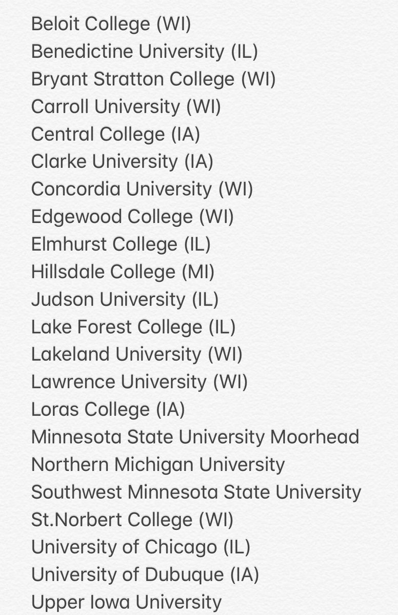 Here is the list of Colleges/Universities that attended the 2018 ROCK Spring Classic to check out the talent this weekend! #Exposure #ROCKSpringClassic<br>http://pic.twitter.com/rtVV5hNVWq