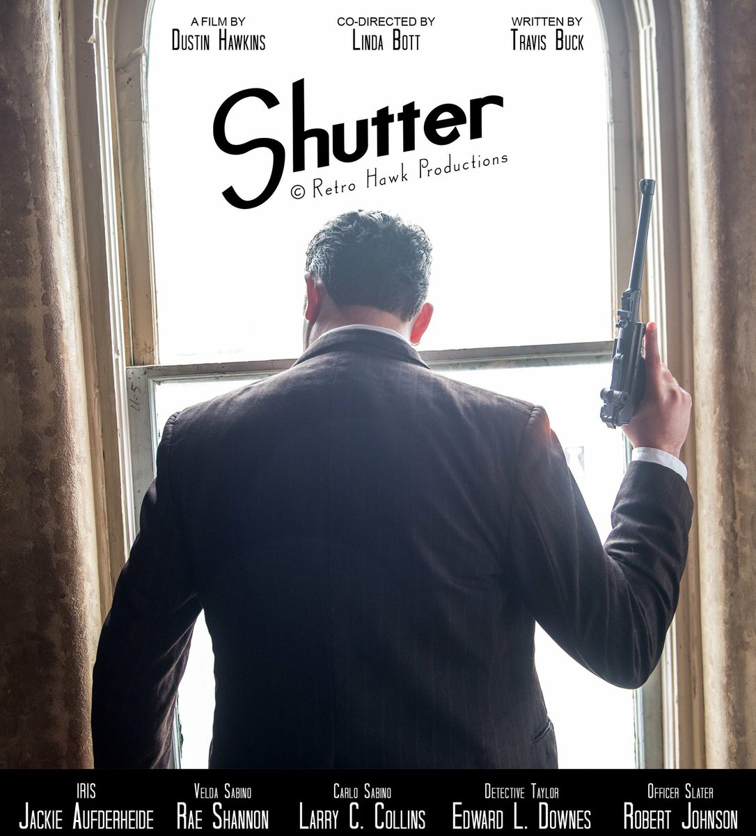 Shutter, my latest film project.  So many talented people involved.  Promotional photo by @photoguyscott68   #shutter #shutterfilm #retrohawkproductions #indiefilm #filmmaker #indiefilmmaker #film #filmmaking<br>http://pic.twitter.com/H5xEIl8g2K