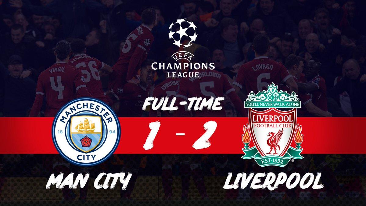 Chấm điểm kết quả Man City 1-2 Liverpool