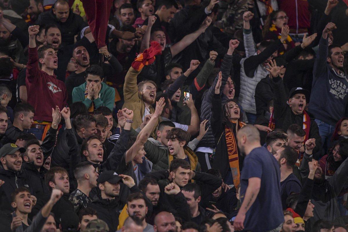 Que noite para a Roma. Para o futebol italiano. Para o futebol.  Para lavar a alma. Para quem não desiste.