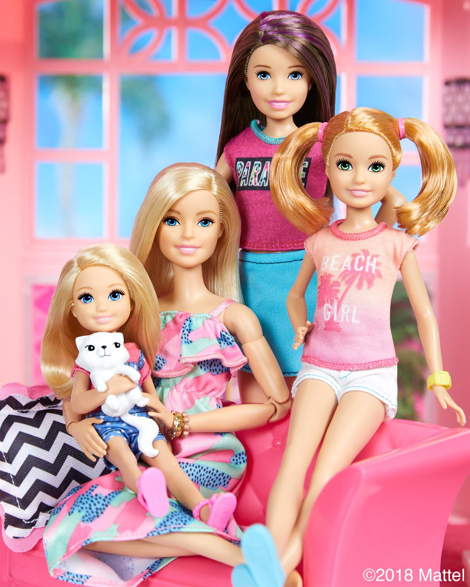 barbie on twitter happy siblingsday from the roberts sisters - Barbie