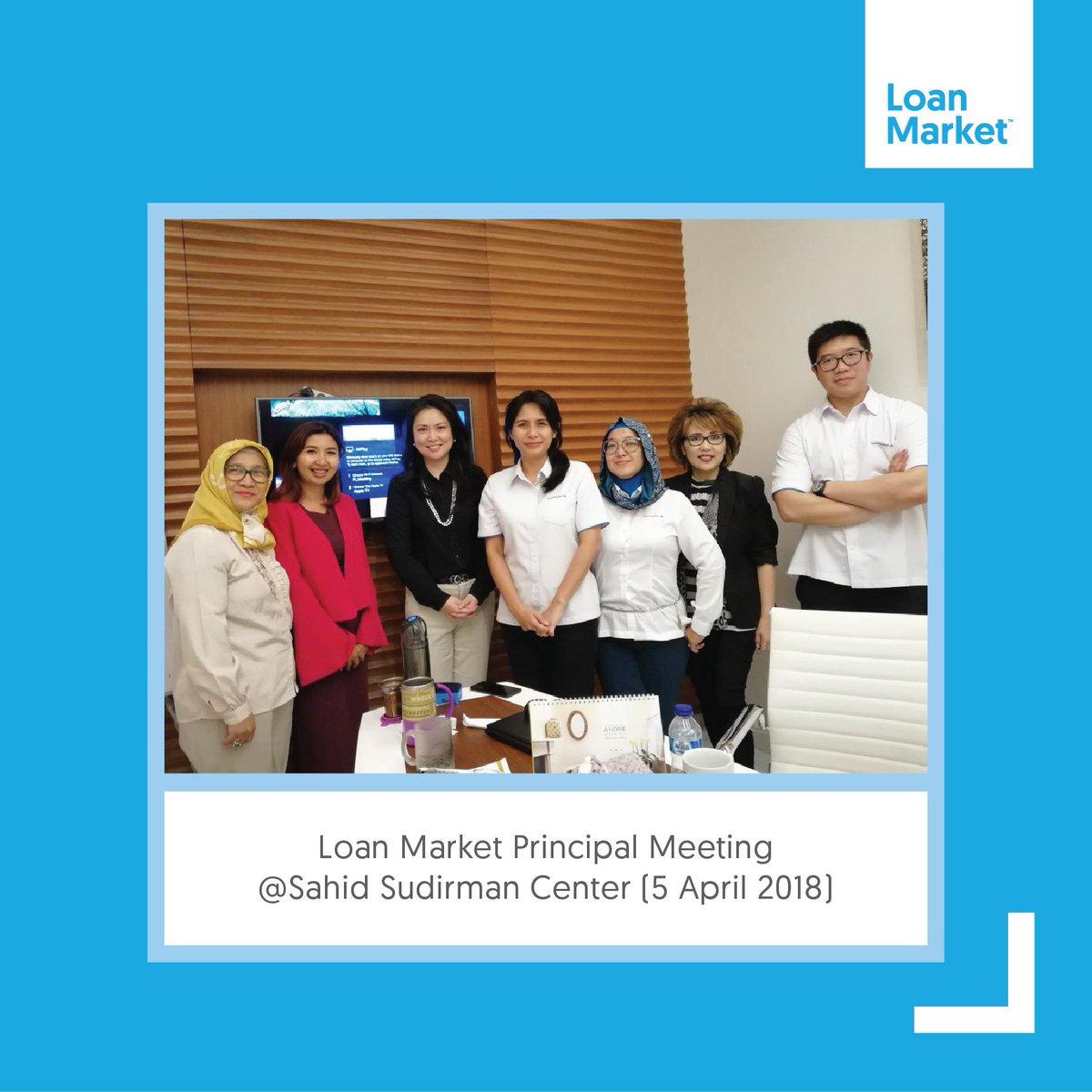 Loan Market Principal meeting @Sahid Sudirman Center (5 April 2018) . . . #loanmarketindonesia #loanmarket #loans #market #kpr #homeloans #finance #business #meeting #principal #professional #event #april#2018pic.twitter.com/HgqQJoqFLu