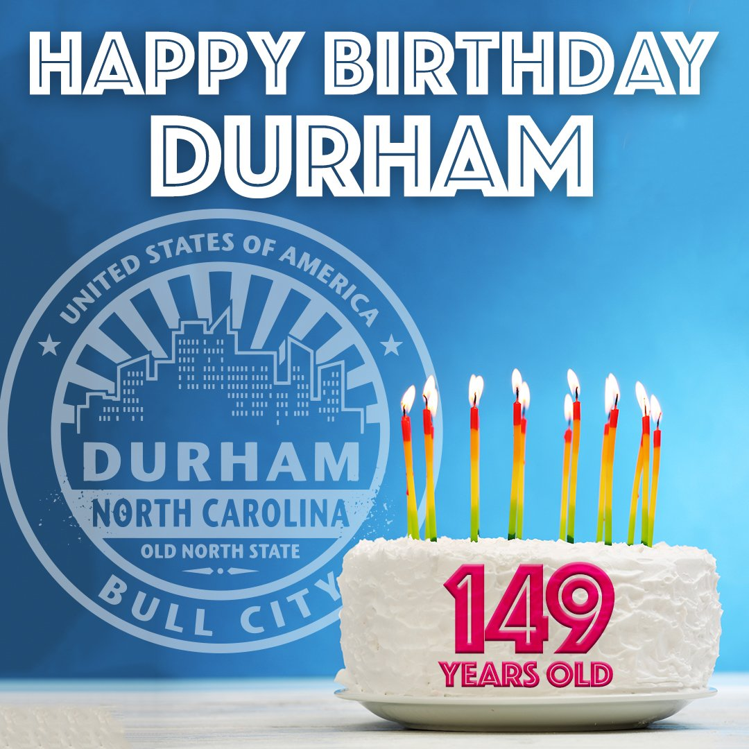 Abc11 Eyewitnessnews On Twitter Happy B Day Durham The City Of