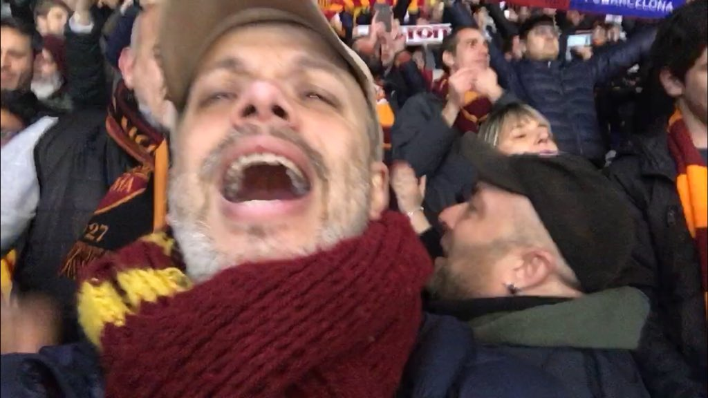 Er core grosso ❤️💛 #RomaBarcellona https...
