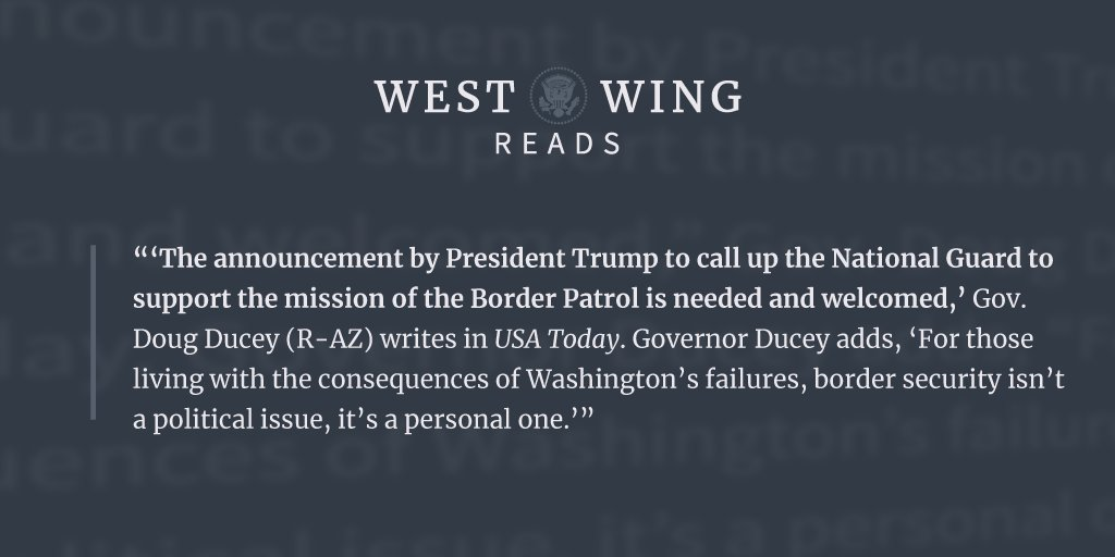 Tonight's edition of West Wing Reads: https://t.co/4VbXqurkCC https://t.co/lMlRtsQumU