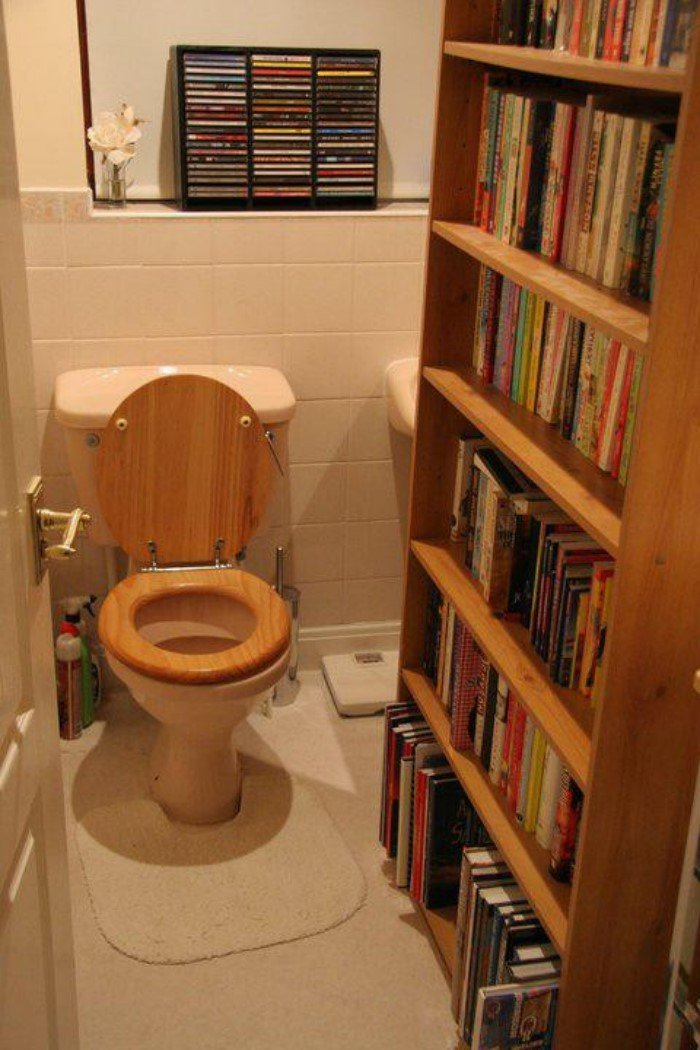 Новорожденным, смешные картинки про чтение в туалете