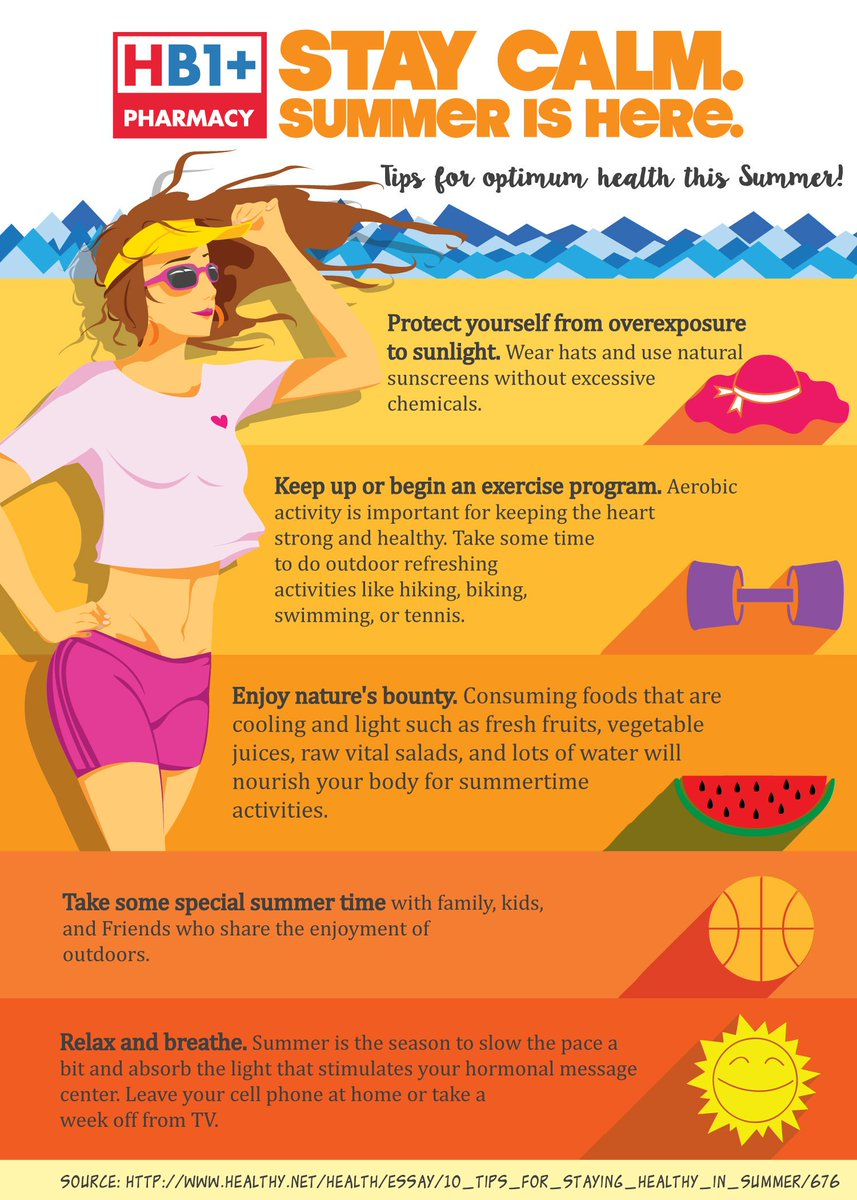 b7543d9b23b These are some of the tips on how to achieve optimum health and wellness at  the hottest season of the year!  Summer  Health   Tipspic.twitter.com 5qLE1V1t3G