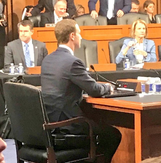 Mark Zuckerberg In A Booster Seat A Tall Tale Says
