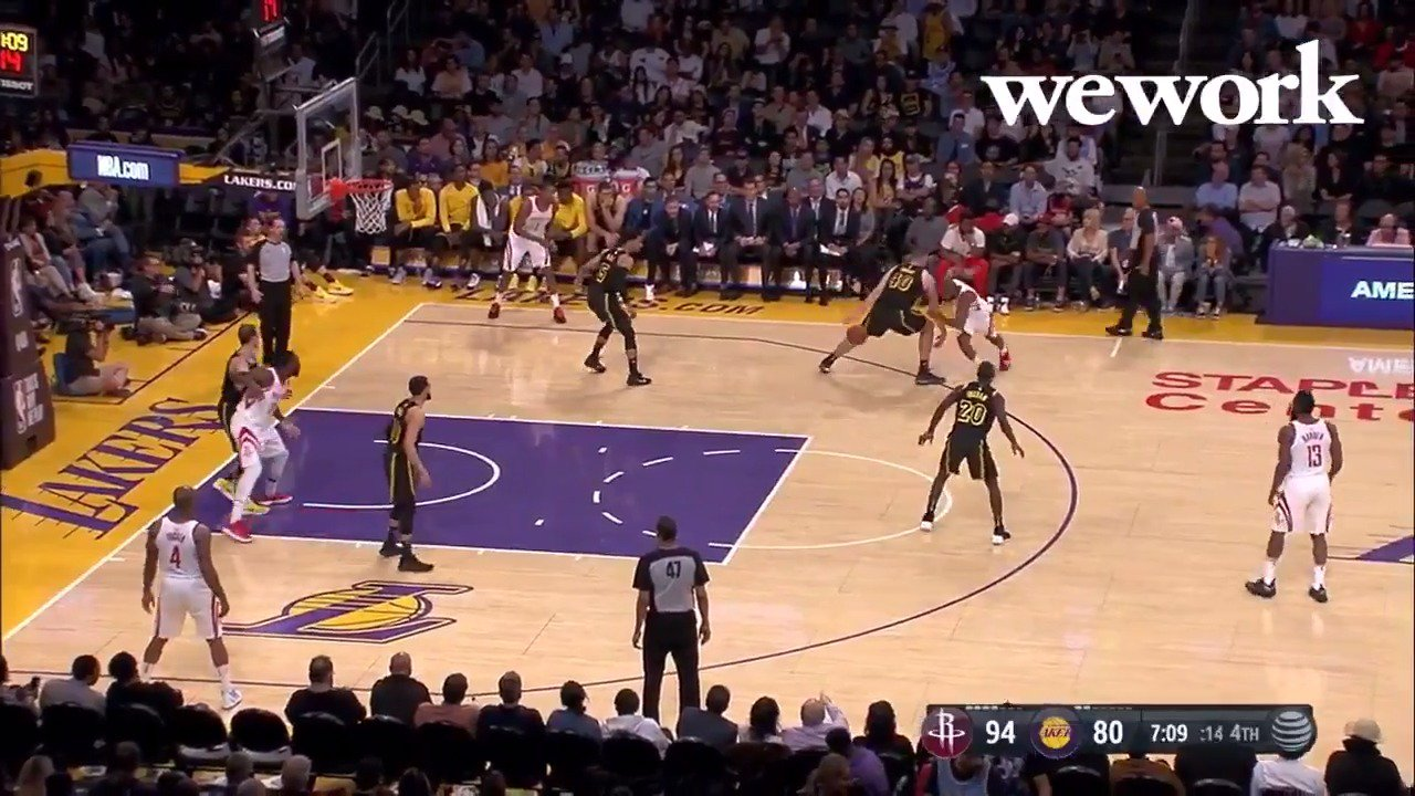 .@CP3 could not be stopped last night. ��  #WorkWeLove https://t.co/BuJGDg9QAx